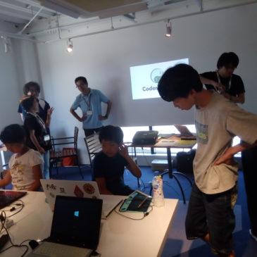 CoderDojo光の13回目を開催しました(2018年7月14日開催)