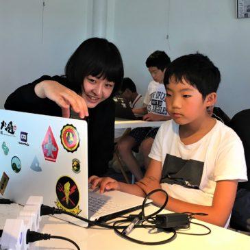 CoderDojo光の15回目を開催しました(2018年8月4日午後開催)