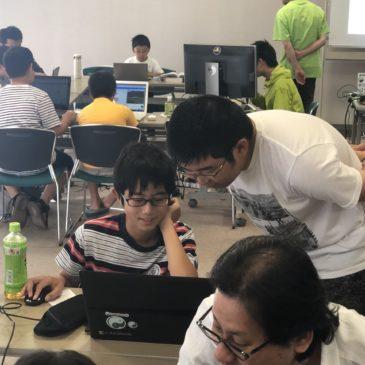 第32回CoderDojo光開催! \(^_^)/ (2019年10月14日)