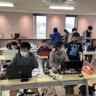 第54回 CoderDojo光 (2021年3月7日( 日) 開催)を開催しました